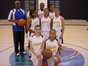 COACH DON WILLIAMS & 2011 LADY ATHLETICS